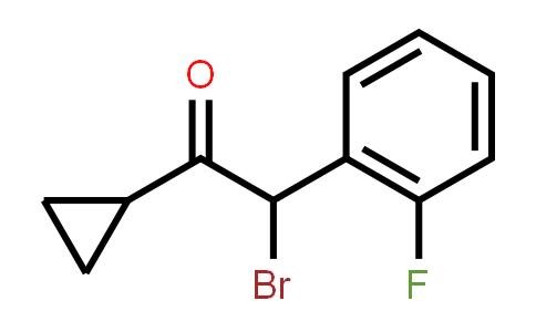 204205-33-4   2-Bromo-2-(2-fluorophenyl)-1-cyclopropylethanone