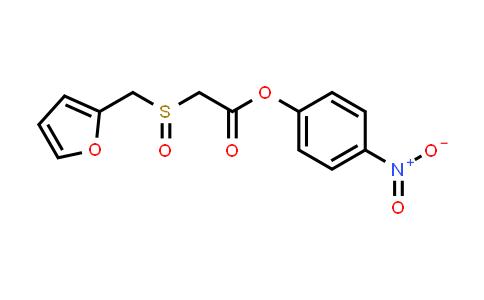 123855-55-0 | 4-nitrophenyl 2-(furfurylsulfinyl)acetate
