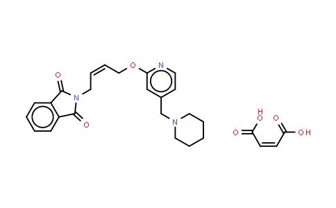 146447-26-9 | N-{4-[4-(piperidinomethyl)pyridyl-2-oxy]-cis-2-butene}phthalimide Maleate