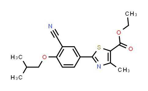 160844-75-7 | Ethyl 2-(3-cyano-4-isobutoxyphenyl)-4-methyl-5-thiazolecarboxylate