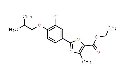 144060-96-8 | Ethyl 2-(3-bromo-4-isobutoxyphenyl)-4-methyl-5-thiazolecarboxylate