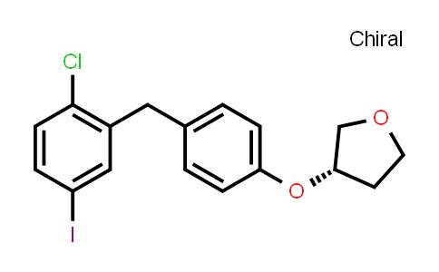 915095-94-2 | (3S)-3-[4-[(2-Chloro-5-iodophenyl)methyl]phenoxy]tetrahydro-furan