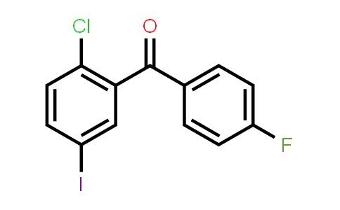 915095-86-2 | (2-Chloro-5-iodophenyl)(4-fluorophenyl)methanone