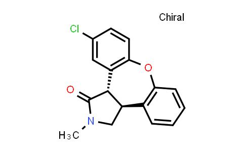 129385-59-7   trans-11-Chloro-2,3,3a,12b-tetrahydro-2-methyl-1H-dibenz-[2,3:6,7]-oxepino-[4,5-c]-pyrrol-1-one
