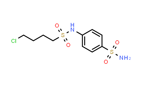 74220-53-4   4-[[(4-chlorobutyl)sulphonyl]amino]benzenesulphonamide