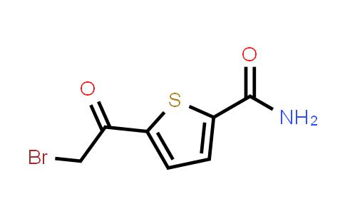 68257-90-9 | 5-(2-Bromo-acetyl)-thiophene-2-carboxylic acid amide