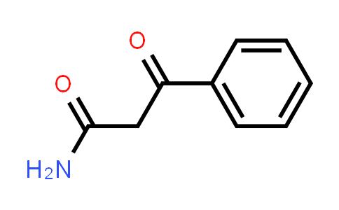 3446-58-0 | 3-oxo-3-phenylpropanamide