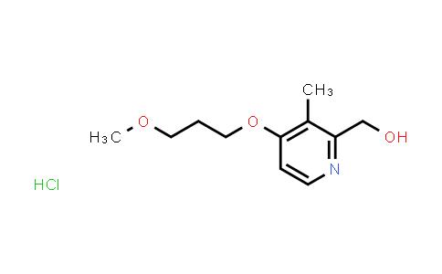 675198-19-3 | [4-(3-Methyoxypropoxy)-3-methyl-2-pyridinyl]methanol hydrochloride