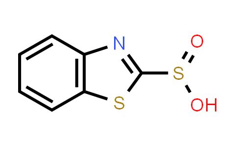 72733-80-3   2-Benzothiazolesulfinicacid(9CI)