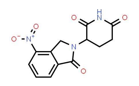 827026-45-9 | 3-(4-Nitro-1-oxo-1,3-dihydroisoindol-2-yl)piperidine-2,6-dione