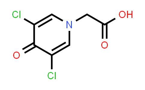 56187-37-2 | 3,5-Dichloro-4-pyridone-N-acetic acid