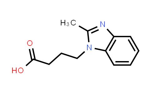 115444-73-0 | 4-(2-METHYL-1H-BENZIMIDAZOL-1-YL)BUTANOIC ACID