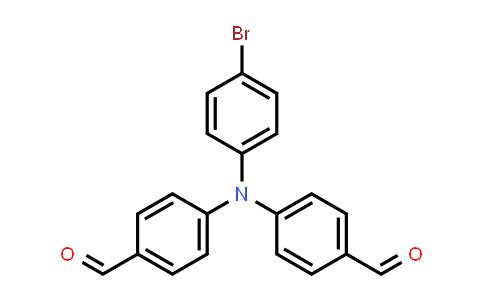 53566-95-3 | 4-[(4-bromophenyl)(4-formylphenyl)amino]benzaldehyde