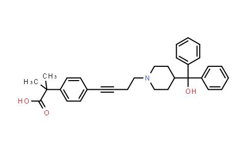 832088-68-3   4-[4-[4-(HydroxydiphenylMethyl)-1-piperidinyl]-1-butyn-1-yl]-α,α-diMethyl-benzeneacetic Acid