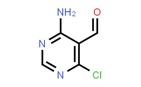 14160-93-1 | 4-AMINO-6-CHLORO-PYRIMIDINE-5-CARBALDEHYDE