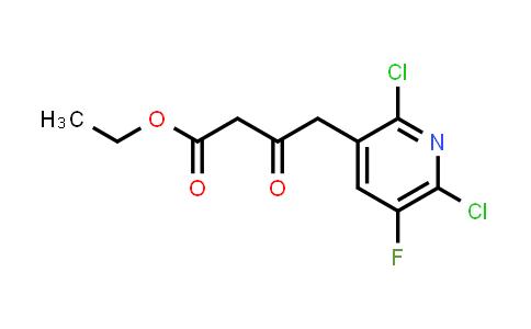 96568-04-6 | Ethyl 2,6-dichloro-5-fluoro-pyridine-3-acetoacetate