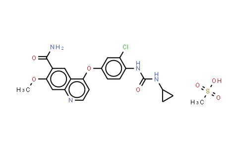 MC459513 | 857890-39-2 | lenvatinibMesylate