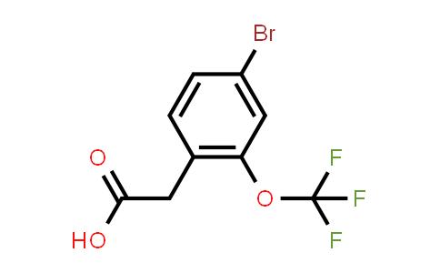 14193-38-5 | 4-bromo-2-(trifluoromethoxy)-Benzeneacetic acid