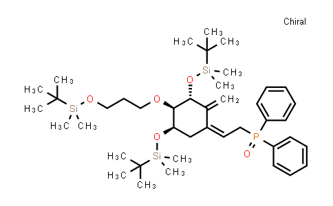 200636-54-0 | ((Z)-2-((3R,4R,5R)-3,5-bis((tert-butyldimethylsilyl)oxy)-4-(3-((tert-butyldimethylsilyl)oxy)propoxy)-2-methylenecyclohexylidene)ethyl)diphenylphosphine oxide