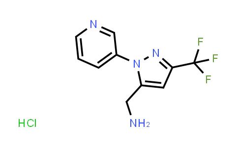 1255041-97-4 | (1-(pyridin-3-yl)-3-(trifluoromethyl)-1H-pyrazol-5-yl)methanamine hydrochloride