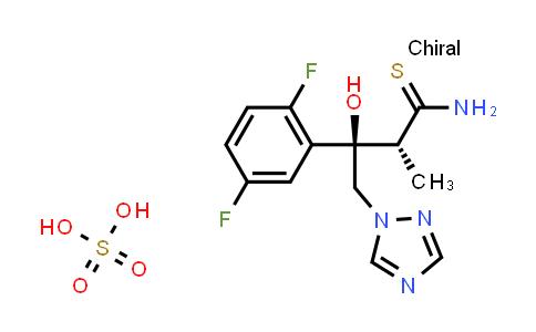 1286730-01-5   (2R,3R)-3-(2,5-Difluorophenyl)-3-hydroxy-2-methyl-4-(1H-1,2,4-triazol-1-yl)thiobutyramide sulfate