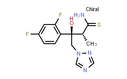 170863-34-0 | (alphaR,betaR)-beta-(2,4-Difluorophenyl)-beta-hydroxy-alpha-methyl-1H-1,2,4-triazole-1-butanethioamide
