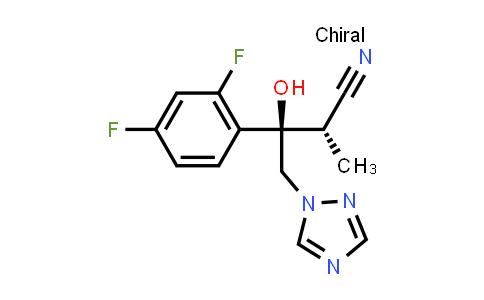 170862-36-9   (alphaS,betaR)-beta-(2,4-Difluorophenyl)-beta-hydroxy-alpha-methyl-1H-1,2,4-triazole-1-butanenitrile