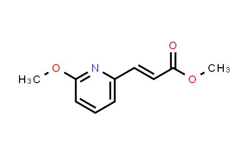 173088-62-5 | (E)-methyl 3-(2-methoxy-6-pyridinyl)acrylate