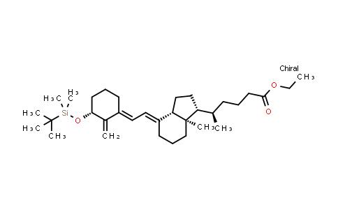 147125-14-2 | (R)-ethyl 5-((1R,3aS,7aR,E)-4-((E)-2-((R)-3-((tert-butyldimethylsilyl)oxy)-2-methylenecyclohexylidene)ethylidene)-7a-methyloctahydro-1H-inden-1-yl)hexanoate