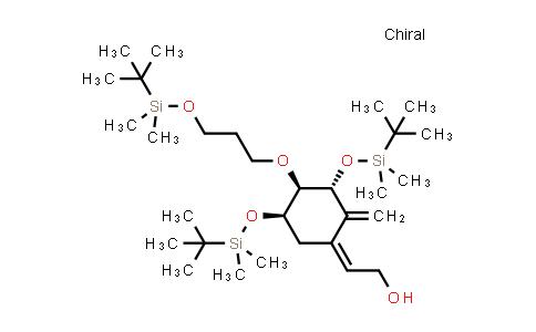DY459590 | 200636-42-6 | (Z)-2-((3R,4R,5R)-3,5-bis((tert-butyldimethylsilyl)oxy)-4-(3-((tert-butyldimethylsilyl)oxy)propoxy)-2-methylenecyclohexylidene)ethanol