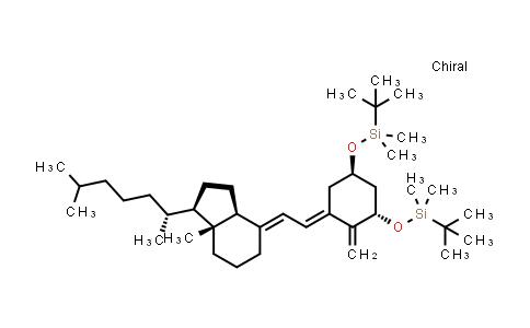 DY459593 | 112670-85-6 | [[(1a,3b,5E,7E)-9,10-Secocholesta-5,7,10(19)-triene-1,3-diyl]bis(oxy)]bis[(1,1-dimethylethyl)dimethylsilane]