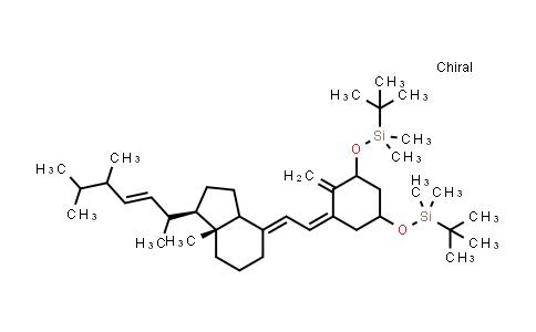 111594-58-2 | [[(1a,3b,5E,7E,22E)-9,10-Secoergosta-5,7,10(19),22-tetraene-1,3-diyl]bis(oxy)]bis[(1,1-dimethylethyl)dimethylsilane]