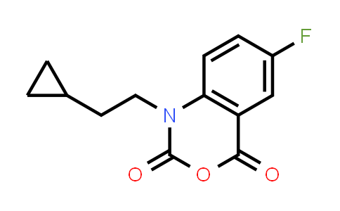 477933-12-3 | 1-(2-CYCLOPROPYL-ETHYL)-6-FLUORO-1H-BENZO[D][1,3]OXAZINE-2,4-DIONE