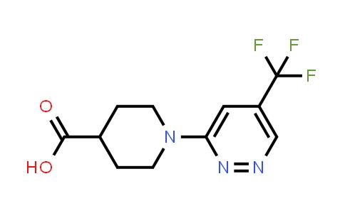 342794-47-2 | 1-(5-(trifluoromethyl)pyridazin-3-yl)piperidine-4-carboxylic acid