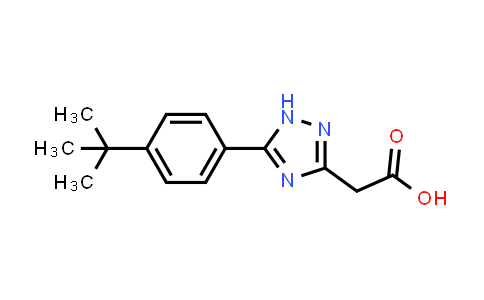 194419-32-4 | 1H-1,2,4-Triazole-3-acetic acid, 5-[4-(1,1-dimethylethyl)phenyl]-