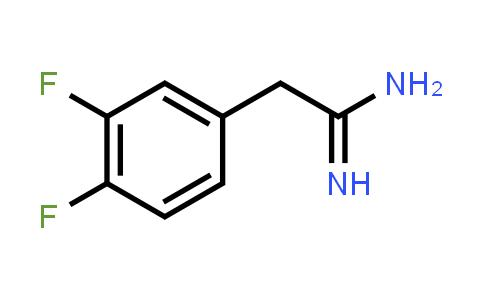 885965-89-9 | 2-(3,4-DIFLUORO-PHENYL)-ACETAMIDINE