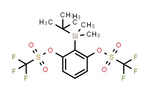 DY459655   1637638-66-4   2-(tert-Butyldimethylsilyl)-1,3-phenylene Bis(trifluoromethanesulfonate)
