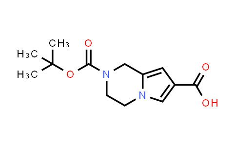 DY459679 | 1782248-68-3 | 2-[(tert-butoxy)carbonyl]-1H,2H,3H,4H-pyrrolo[1,2-a]pyrazine-7-carboxylic acid