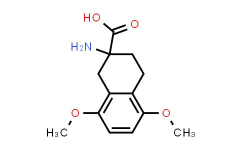 99907-84-3 | 2-amino-5,8-dimethoxy-1,2,3,4-tetrahydronaphthalene-2-carboxylic acid