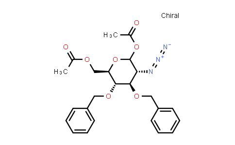 136172-58-2 | 2-Azido-2-deoxy-3,4-bis-O-(phenylmethyl)-D-glucopyranose 1,6-diacetate