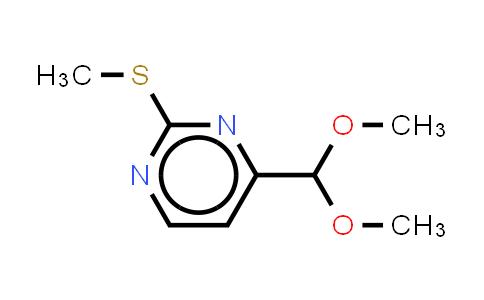 180869-36-7 | 2-methylthiopyrimidine-4-carboxaldehyde dimethyl acetal