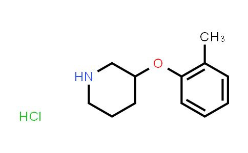 1858256-18-4 | 3-(2-methylphenoxy)-Piperidine hydrochloride (1:1)
