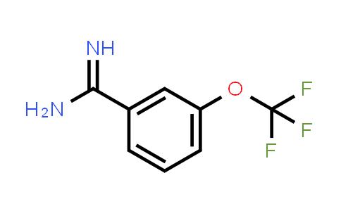 791566-24-0 | 3-(trifluoromethoxy)benzamidine