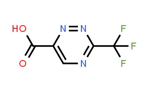 1823343-51-6 | 3-(trifluoromethyl)-1,2,4-triazine-6-carboxylic acid