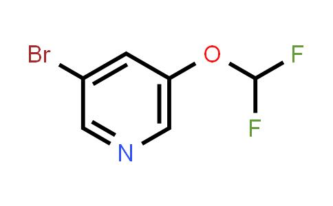 342602-27-1 | 3-bromo-5-(difluoromethoxy)-Pyridine