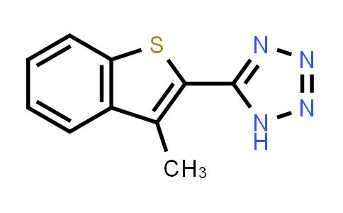 951625-85-7 | 3-methyl-2-(1H-tetrazol-5yl) benzothiophene