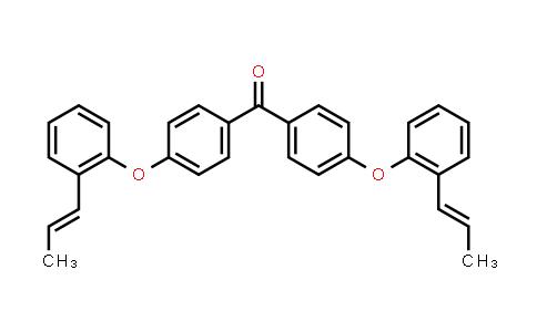 7442-52-6   4,4′-Bis[2-(1-propenyl)phenoxy]benzophenone