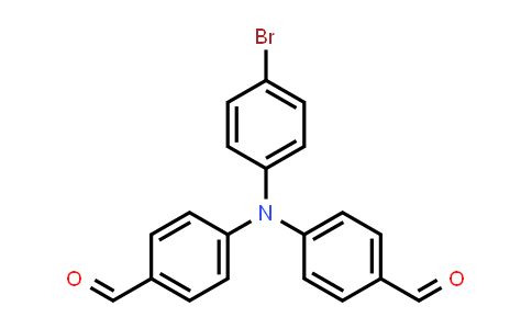 167859-41-8 | 4-[(4-bromophenyl)(4-formylphenyl)amino]benzaldehyde