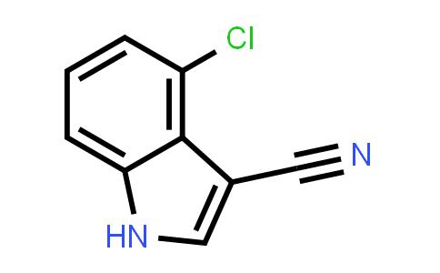 889942-73-8   4-CHLORO-1H-INDOLE-3-CARBONITRILE