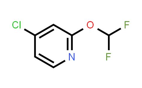 1807199-46-7 | 4-Chloro-2-(difluoromethoxy)pyridine